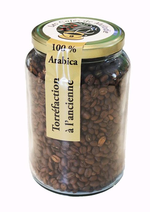 Bocal de 600g de grain de café