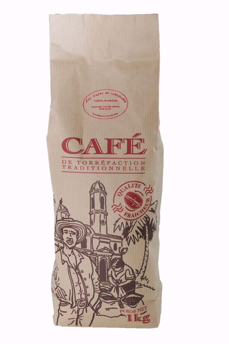 Paquet de 1kg de café